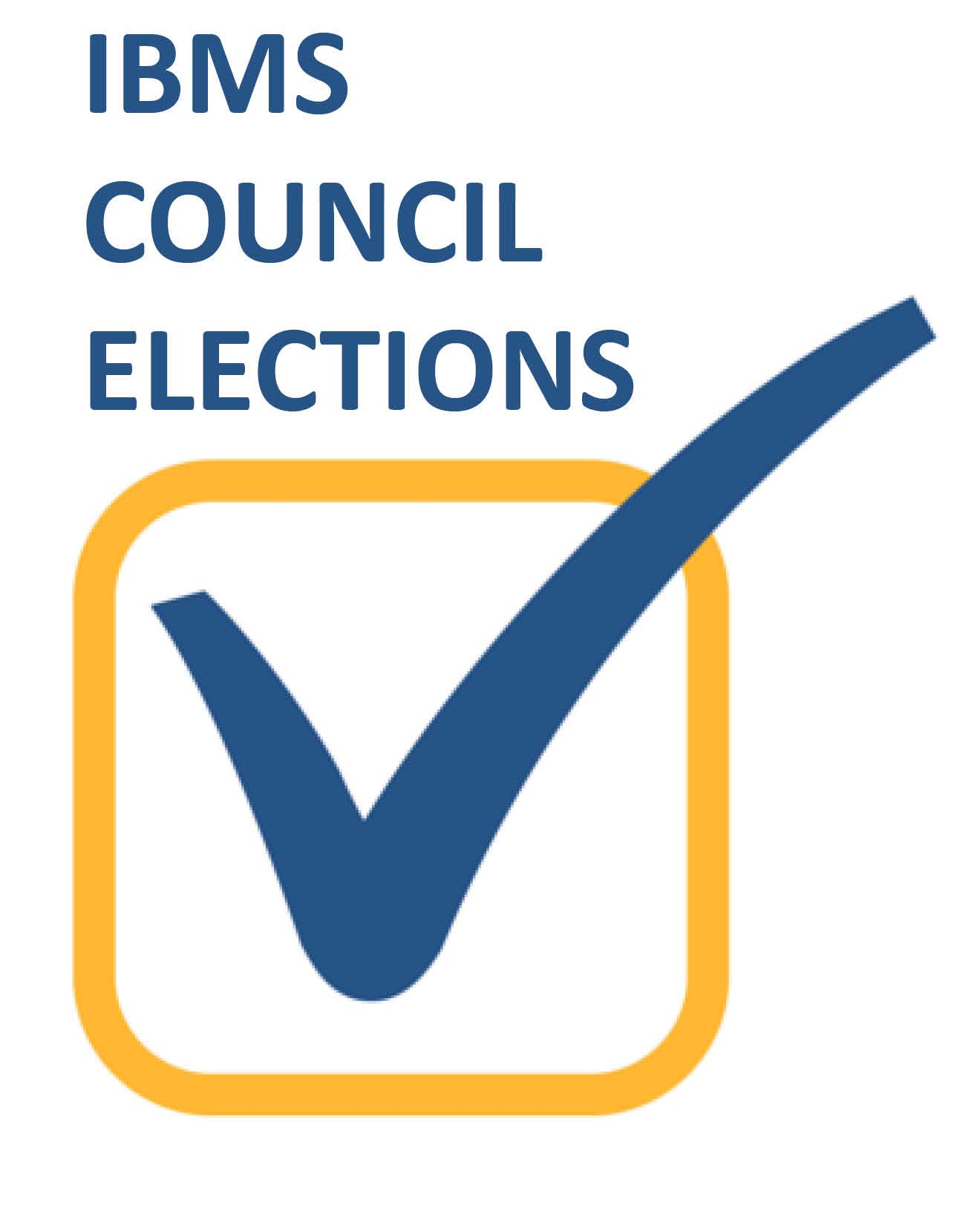logo for IBMS Council elections