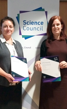 Joanne and Sheri CPD awards 2019