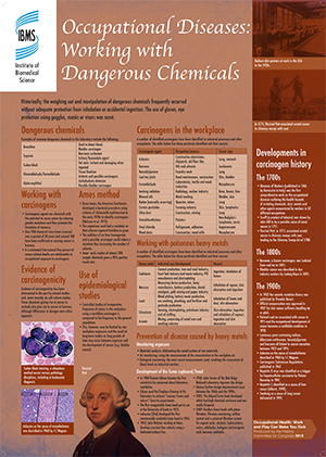 Working with dangerous chemicals