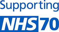 NHS 70 logo small