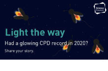 Science Council launches 'glowing CPD' campaign